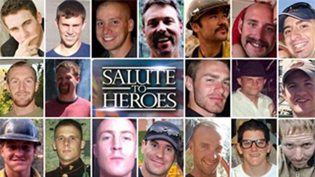 Fallen Granite Mountain Hotshots in Arizona (Source: CBS 5 News)