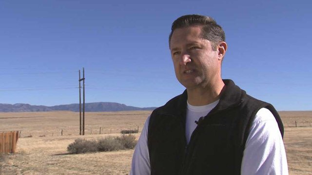 Chris Schaich says his Chino Valley home was rattled by a pair of mysterious, unexplained booms this week. (Source: CBS 5 News)