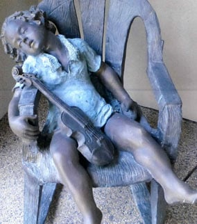 One of the yard statues stolen from a Prescott home. (Source: Yavapai County Sheriff's Office)