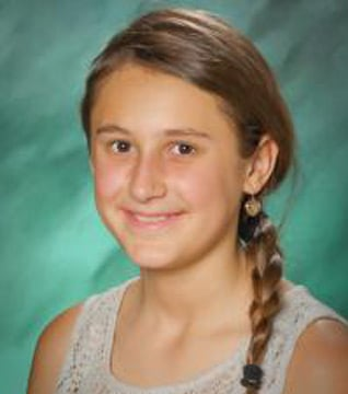 Sarina Ehler was last seen about 7:30 a.m. after she didn't return from a restroom at a school near 7200 W. Rose Garden Lane. (Source: Glendale Police Department)