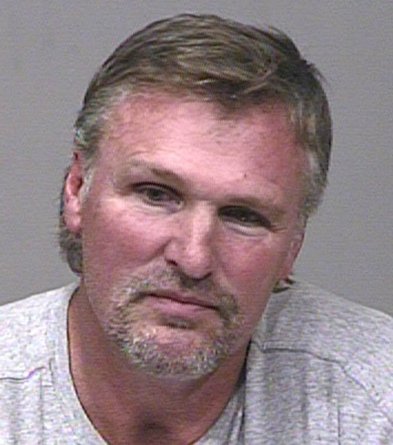 Tom Chambers booking photo. (Source: Scottsdale Police Department)