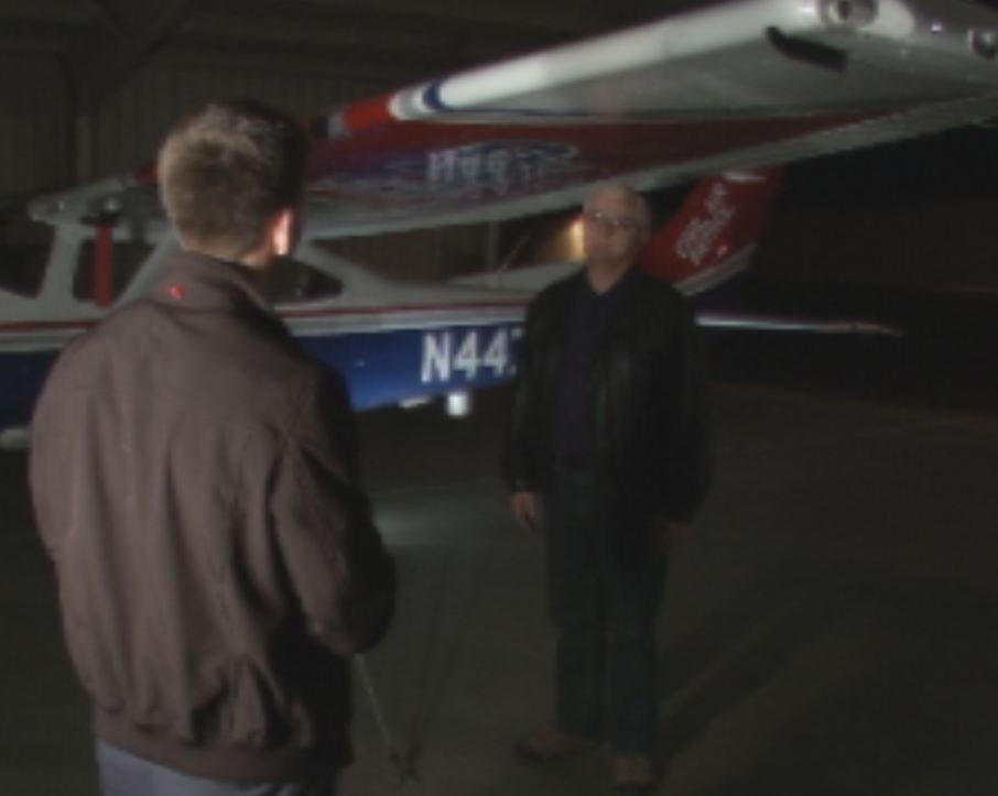 Col. Brian Ready with the AZ Wing of the Civil Air Patrol speaks with CBS 5's Greg Argos.