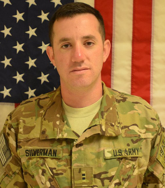 Joshua Silverman (1st Infantry Division Facebook/Flickr)