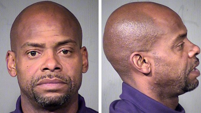 Richard Dumas, a former player for the Phoenix Suns, was among 151 arrests made around Arizona over the past three days by the U.S. Marshals Service. (Source: Maricopa County Sheriff's Office)