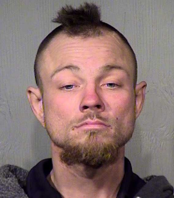 Sturgeon's booking photo Sunday morning. (Source: Maricopa County Sheriff's Office)