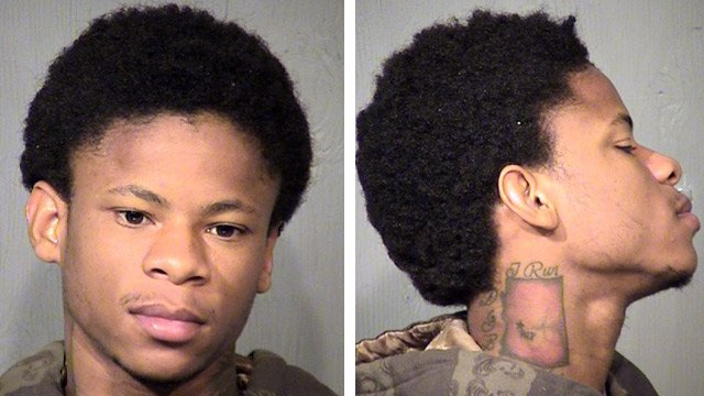 "Jacorion Tyrell White, also known as ""Coco,"" was booked into jail Saturday on a charge of first-degree murder. (Source: Maricopa County Sheriff's Office)"