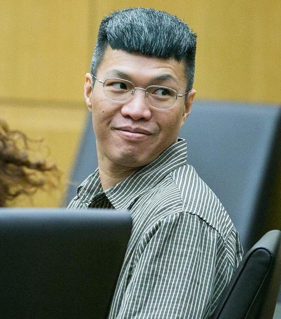 Jonathan Doody at his most recent retrial.