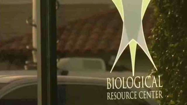 According to the website for Biological Resource Center,  the building houses a human tissue bank where people can donate bodies and body parts. (Source: CBS 5 News)