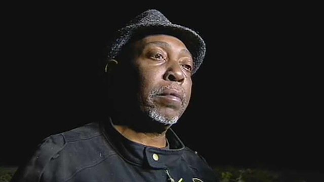 Passenger Gregory Fort of Oakland, CA, said he noticed something strange about the suspect when he talked with him in California. (Source: CBS 5 News)