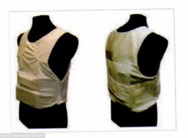 Gamma Group makes a wearable spy vest.