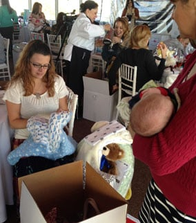 Baby Shower at the TPC in Scottsdale. (Source: CBS 5 News)