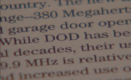 Government report recognizes issues over garage doors and frequencies used by DOD