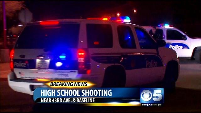 Cesar Chavez High School shooting (Source: CBS 5 News)