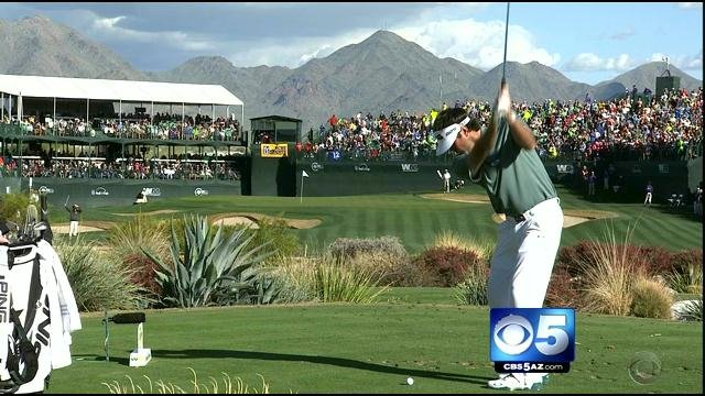 Waste Management Phoenix Open (Source: CBS 5 News)