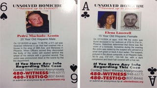 Silent Witness playing cards (Source: CBS 5 News)