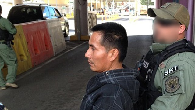 Jose Aguilar-Lucas, 36, was turned over to Mexican federal police by ICE officers. (Source: Dept. of Homeland Security)