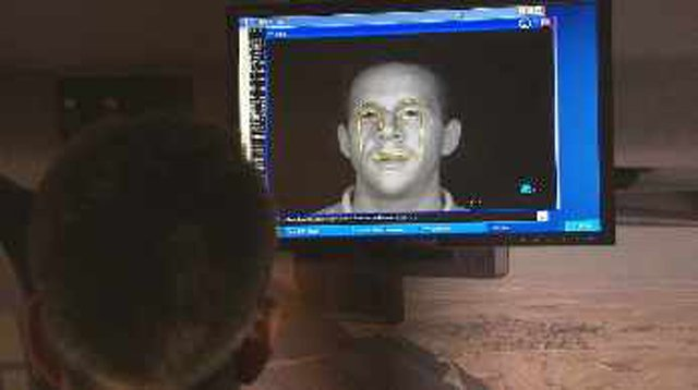 It sends snapshots of the driver's eyes to someone who is watching a monitor. (Source: CBS 5 News)
