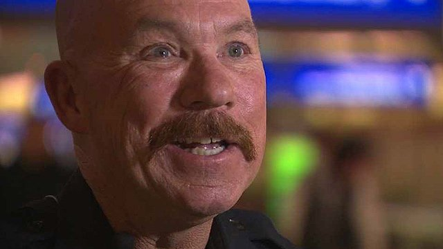 Frazier maintains his upbeat attitude even in the face of prostate cancer, and donated the $500 award to cancer research. (Source: CBS 5 News)
