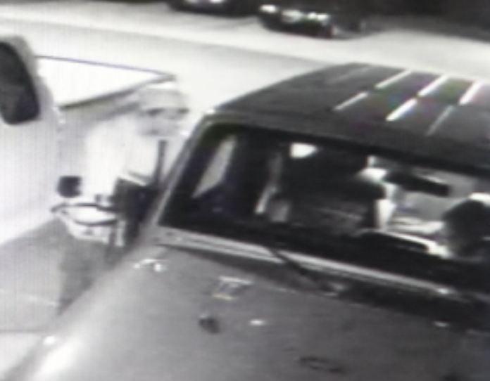 Security video of car burglary