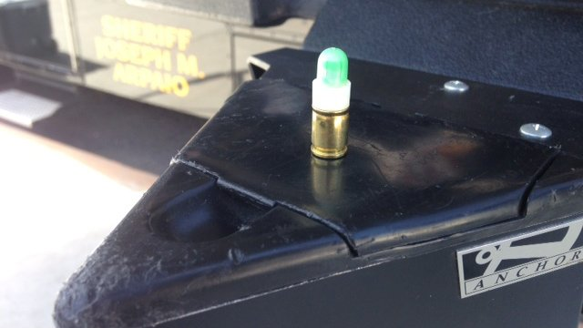 Simunitions are projectiles which are marking rounds rather than bullets, MCSO said. (Source: Maricopa County Sheriff's Office)