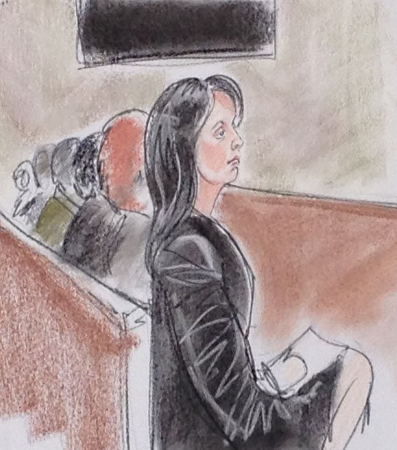 (Courtroom sketch by Maggie Keane)