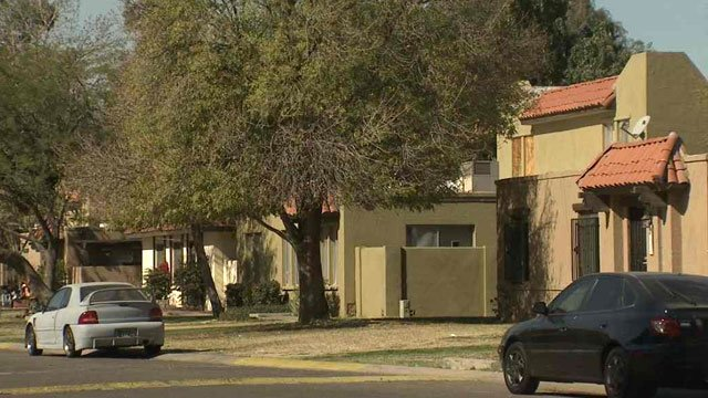 A Valley company called SHU LLC has bought more than 160 of the Quatros subdivision's 204 units. (Source: CBS 5 News)
