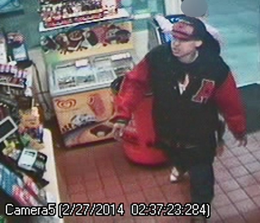 One of the suspects as seen on a surveillance camera at a local store. (Source: Phoenix Police Department)