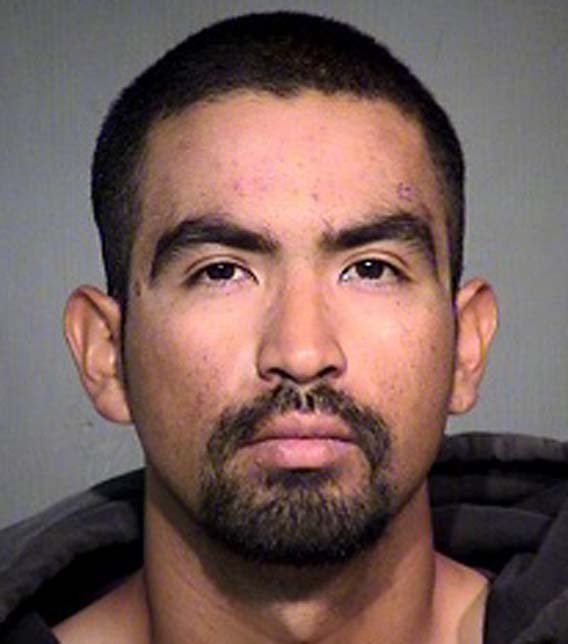 Eric Aldava was arrested Saturday night. (Source: Maricopa County Sheriff's Office)