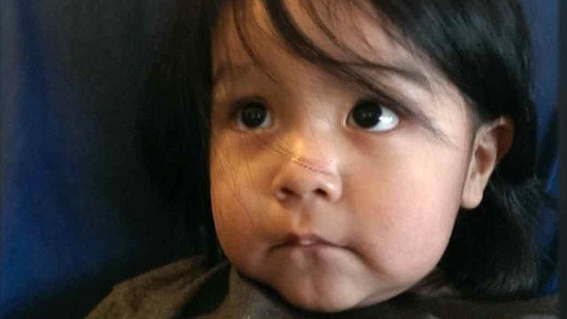 The boy had been left by his mother as she ran from the boy's father after a party, police said. (Source: CBS 5 News)