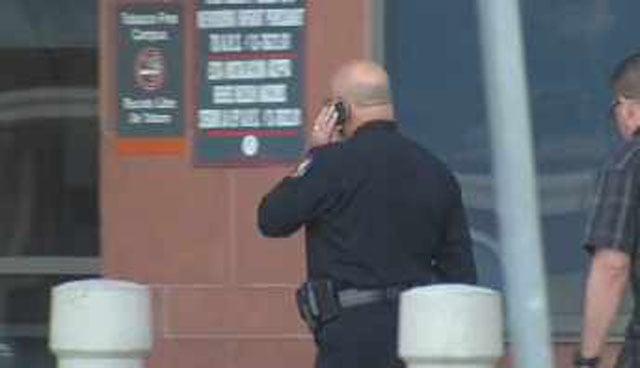 Phoenix Police Chief Daniel Garcia arrives at  St. Joseph's Hospital. (Source: CBS 5 News)