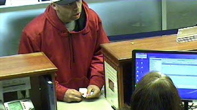 Suspect in Goodyear credit union bank robbery. (Source: Goodyear Police Department)