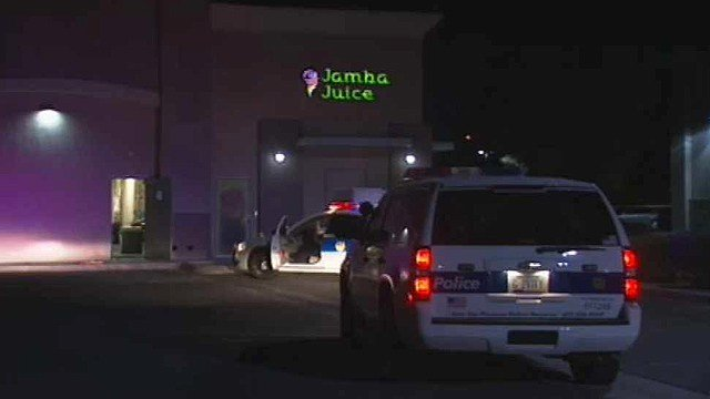 A domestic dispute ended with a Jamba Juice employee wounded the suspected shooter turning a gun on himself at a Phoenix hospital.