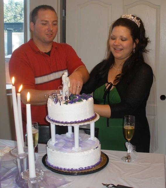 Scott White and his wife Josie (Source: Family photo)