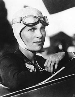Amelia Earhart was the first woman to fly solo across the Atlantic Ocean.