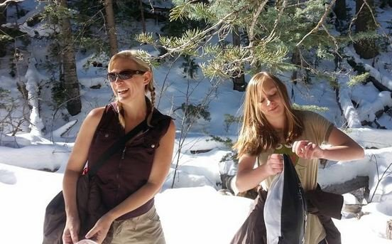 Diannah Dinsmoor, left, and Anastasia Greer, right (Source: Family photo)