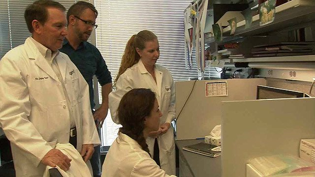 Scientists at Phoenix-based TGen have identified the gene which causes a rare and fatal type of ovarian cancer that strikes young women and girls. (Source: CBS 5 News)