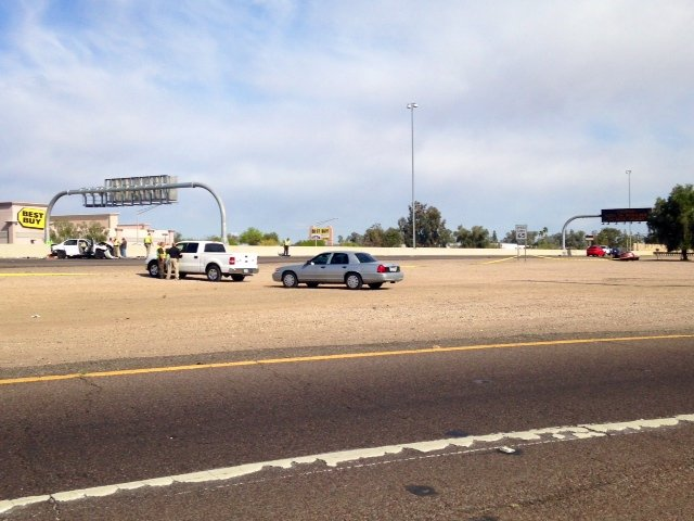 One person is dead and three were hurt in multiple collisions on I-17 Saturday. (Source: CBS 5 News)