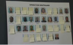 Operation Southland Arrests