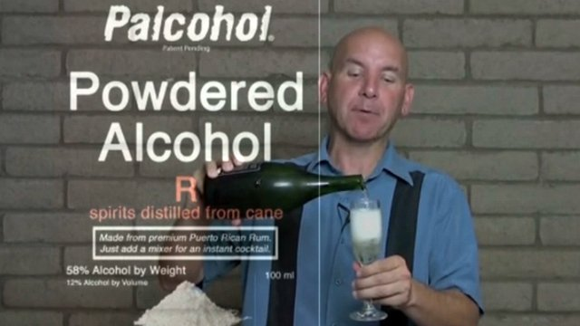 Mark Phillips of Phoenix developed Palcohol, or powdered alcohol. (Source: CBS 5 News)