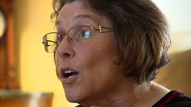 A former alcoholic, Vera Martz says Palcohol is a disaster waiting to happen. (Source: CBS 5 News)
