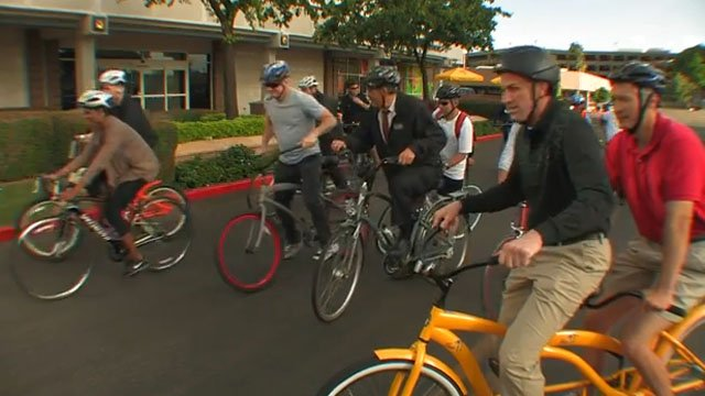 Bike to Work Day 2013 (Source: know99 phoenix/YouTube)