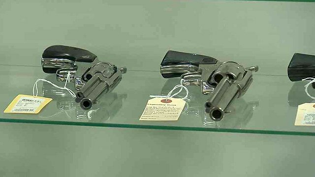 Arizona Gov. Jan Brewer has vetoed two major pro-gun bills on Tuesday. (Source: CBS 5 News)