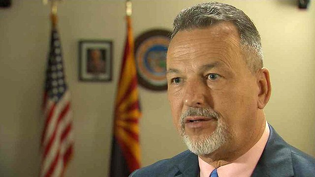 Charles Flanagan is director of the state's child safety division. (Source: CBS 5 News)
