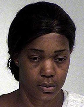 Starr-Nesha Branch was booked into jail on manslaughter, driving under the influence and other charges after her arrest Friday. (Source: Maricopa County Sheriff's Office)
