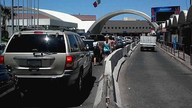 More than 3 million people cross the border at the De Concini Port of Entry at Nogales every year. (Source: CBS 5 News)