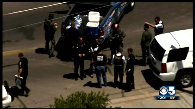Lockdowns at five Chandler schools were lifted late Monday. (Source: CBS 5 News)