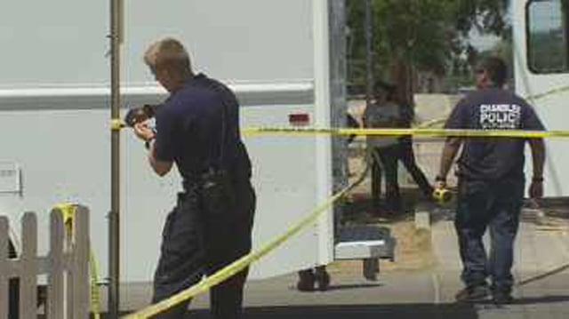 Gonzales eluded capture twice. (Source: CBS 5 News)
