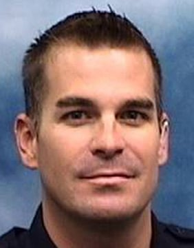 Veteran Mesa Police Officer Brandon Mendoza was killed in the head-on crash. (Source: Mesa Police Department)