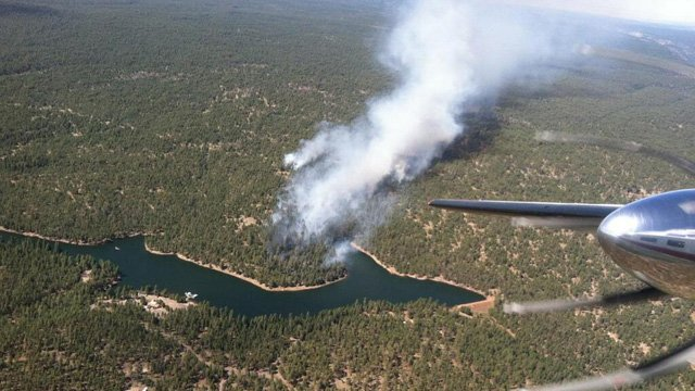 Woods Canyon wildfire (Source: Apache-Sitgreaves National Forests)
