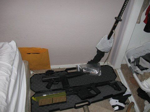 DPS officers and Maricopa County sheriff's deputies also found numerous weapons in the home.